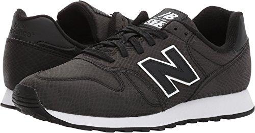 New Balance Women's 373V1 Sneaker, Black/White, 5 B US For Sale
