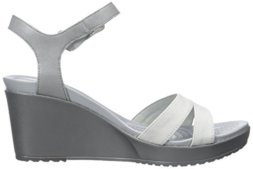 Smoke Leigh Donna Charcoal Crocs Sabot II SHqnwPI