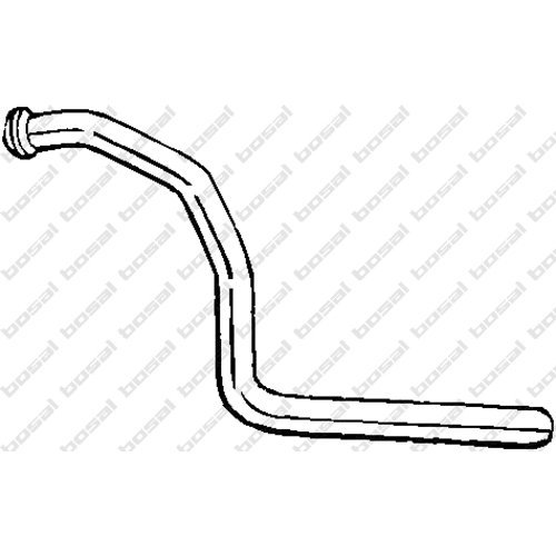 Bosal 768-371 Exhaust Pipe