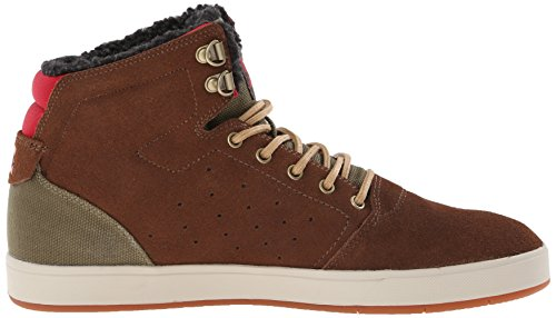 DC Crisis Skate High Men's Chocolate Shoe Green WNT pRzqOxprAw