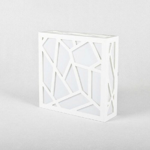 LightInTheBox Classic Creative Wood Carving Water Cube LED Ceiling Lights Fixture Flush Mount Lamp Bulb Included Light Source=White by LightInTheBox (Image #2)