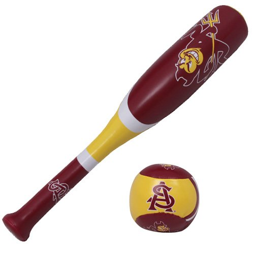 Devils Billiard Ball Set - NCAA Arizona State Sun Devils Softee Bat & Ball Set