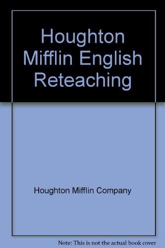 Houghton Mifflin English: Reteaching Workbook, Level 3