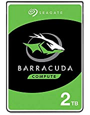 Seagate BarraCuda Internal Hard Drive 2TB SATA 6Gb/s 128MB Cache 2.5-Inch 7mm - Frustration Free Packaging (ST2000LMZ15)