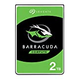 Seagate BarraCuda 2TB Internal Hard Drive HDD - 2.5 Inch SATA 6 Gb/s 5400 RPM 128MB Cache for PC Laptop (ST2000LM015)