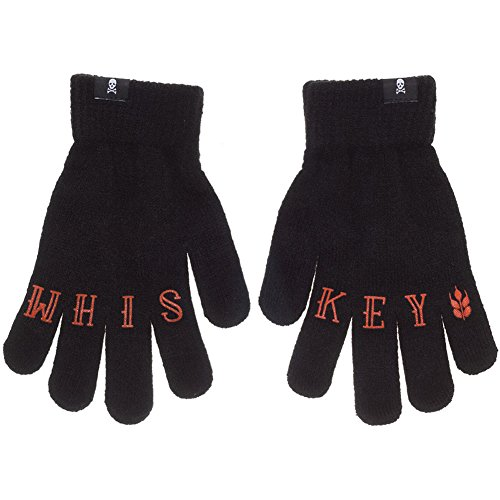 Price comparison product image Sourpuss Whiskey Knit Gloves Black