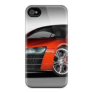 AndrewWMorton LhPYUcH985CQEqd Case Cover Iphone 4/4s Protective Case Audi R8 1080p