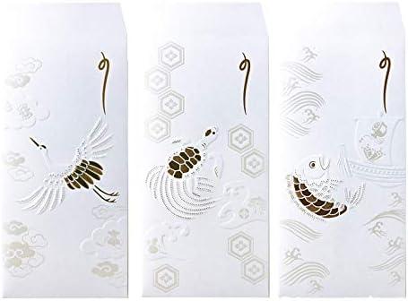 サクライカード 箔祝儀袋/吉祥浪漫3種セット サクライカード SHS1700
