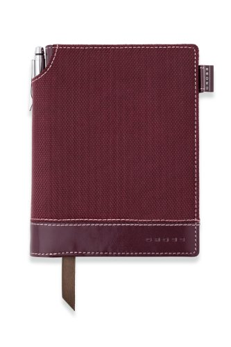 Cross Textured Journal, Red, Small (AC249-4S) ()