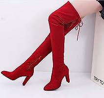 Gli Alto Sopra Con Stivali Donna Da Tacco Liangxie Al tA0yqT