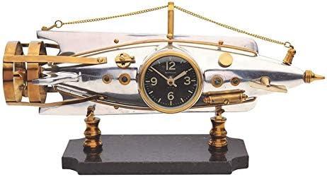 Pendulux, Nautilus Table Clock, Room Decor, Aluminum