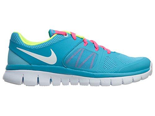 Green NIKE 2014 GS Flex Children's Running RN Shoes wOgawq