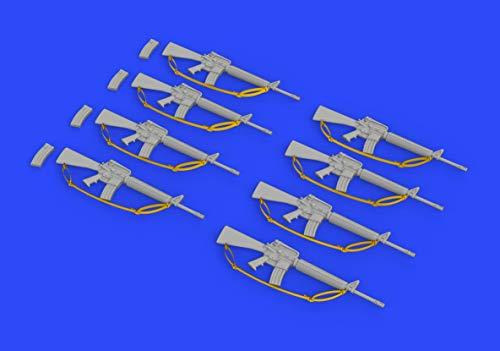 1:35-M16 Rifle-Gulf War Model Kit Brassin, Various - Eduard EDB635012