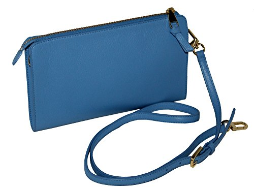 LEATHER TORY WOMEN'S CROSSBODY BRODY BAG WALLET PEBBLED BURCH xBB4rwRt