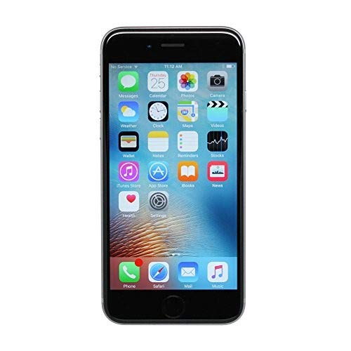 Apple iPhone 6s 64GB Unlocked GSM 4G LTE Dual-Core Phone w/ 12MP Camera - Space Gray (Renewed) (Gsm Apple Phones)