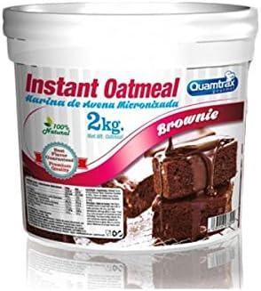 Quamtrax Instant Oatmeal - Harina de Avena 2 kg - Toffee ...