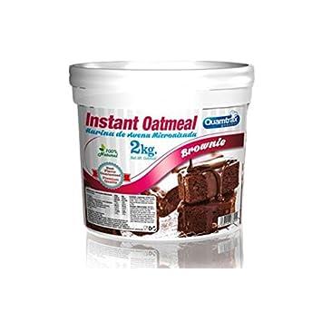 Quamtrax Instant Oatmeal - Harina de Avena 2 kg - Toffee: Amazon.es: Deportes y aire libre