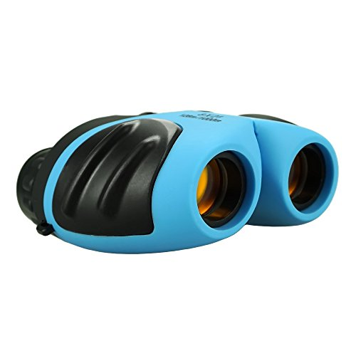 Fricon Presents Best Gifts for 3-8 Year Old Girls, Child Binoculars for Outside Travel Concerts Best Top Toys for 3-10 Year Old Girls Light Stocking Stuffers Blue KMUSDB008