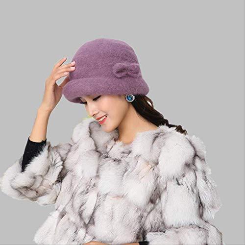Women Rabbit Wool Hats...