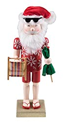 Traditional Beach Santa Claus Nutcracker by Clever...