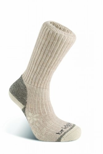 - Bridgedale Women's Trekker Socks, Natural, Medium