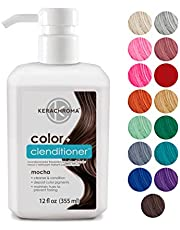 Kerachroma Clenditioner Hair Dye (15 colors) Depositing Color Conditioner, Semi Permanent, Vegan and Cruelty-Free, 12 fl. Oz