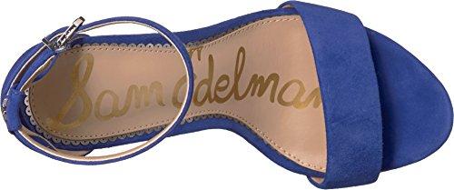 Edelman Blue Leather Kid Sailor Sam Suede Women's Yaro 67wd4TqxH