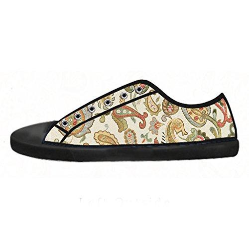 Scarpe Shoes Alto I Women's Paisley Custom Canvas Da Ginnastica Lacci Tetto Delle x0qURWwaZ