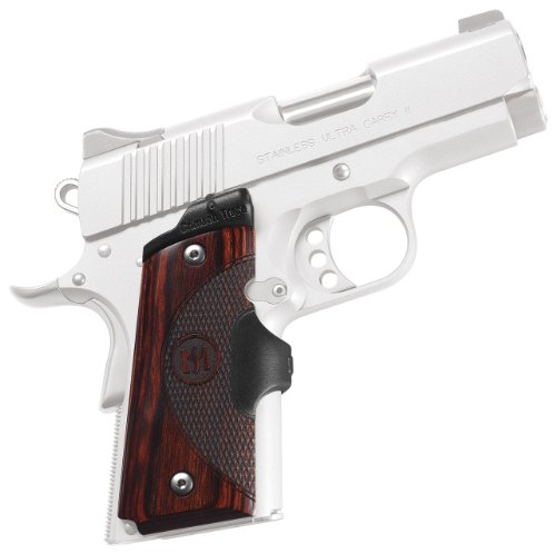 (Crimson Trace LG-902 Master Series Lasergrips Red Laser Sight Grips for 1911 Compact Pistols - Rosewood)