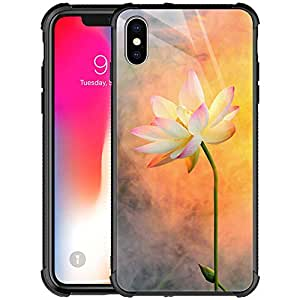 Amazon.com: iPhone Xs Max Case,9H Tempered Glass iPhone Xs