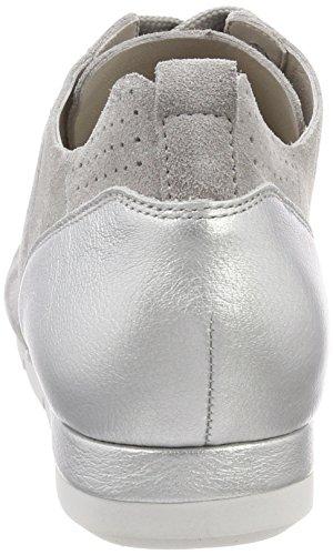 silver Grau Schmenger Kennel Schuhmanufaktur Und Weiß Sneaker Tiger Sohle Donna alu 47qpa4w