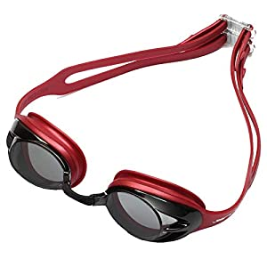 Huub Varga Swimming Goggles – Red/Silver