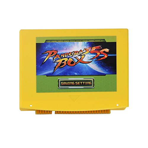 Pandora's box 5S Jamma Board VGA CGA 999 Games English Version - Arcade Machine Jamma Board DIY Kit Accessories Support LCD and CRT Arcade Cabinet Board Vga Install Kits