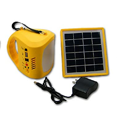 M&T TECH Rechargeable Solar Lantern and Cell Phone Charger Waterproof for Camping Hiking Fishing Outdoor Emergency Equipment