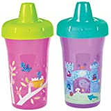 The First Years Simple Sippy Cup - 9oz, 2 pack, Pink and Purple
