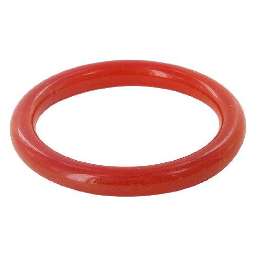 Gem Avenue Red Soapstone Gemstone 63mm inside 81mm outside diameters Bracelet