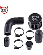 EVIL ENERGY CCV Crankcase Ventilation Air Filter Open Breather Kit Cleanable Compatible with 07.5-17 Dodge Cummins 6.7L 2500 3500