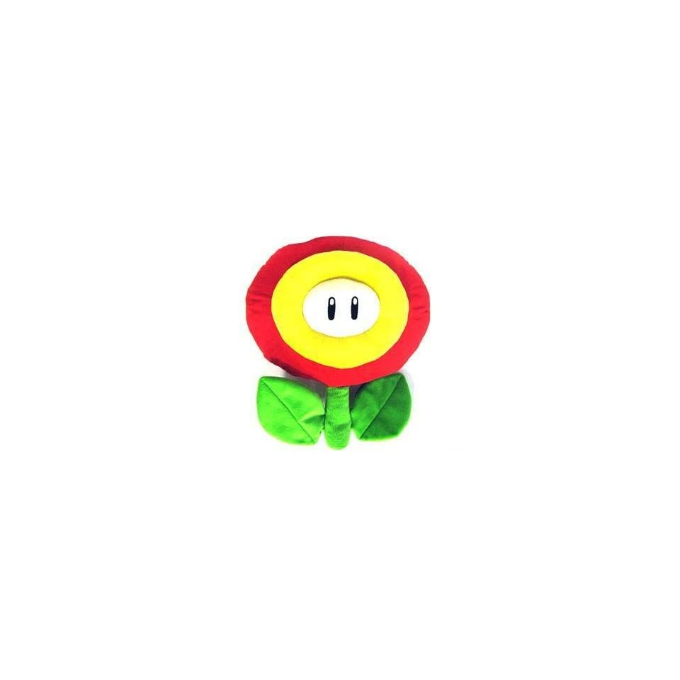 Plush   Nintendo Super Mario Bros.   Fire Flower 13 Soft Doll Figure