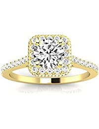 376f574ab4c3d Womens Engagement Rings | Amazon.com