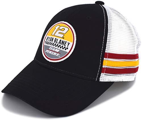 SMI Properties Ryan Blaney 2019 Vintage Patch Mesh NASCAR Hat Black, White