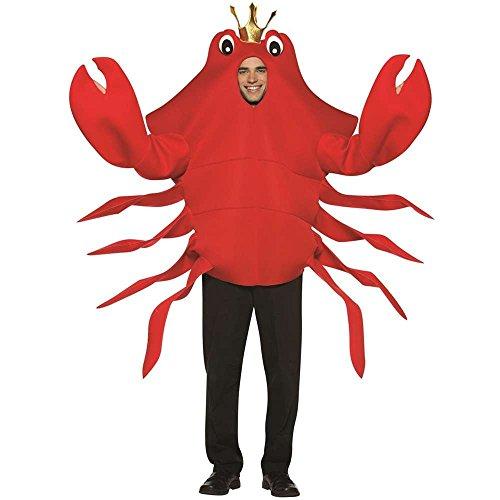 sc 1 st  Amazon.com & Amazon.com: Rasta Imposta King Crab Red One Size: Clothing