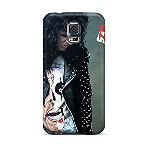 High Quality Hard Phone Cases For Samsung Galaxy S5 (NYM13925TPjv) Allow Personal Design Lifelike Alice Cooper Band Skin
