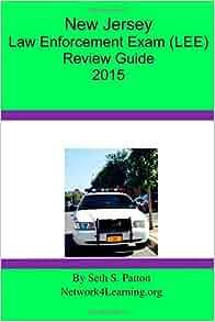jersey law enforcement exam lee review guide  seth  patton  amazon