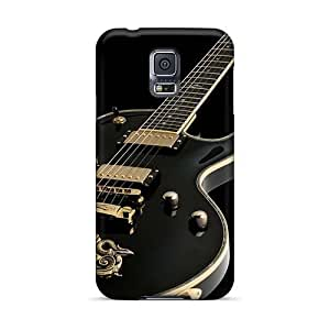 KevinCormack Samsung Galaxy S5 Anti-Scratch Hard Phone Case Unique Design Realistic Metallica Series [NNr11298WQcc]