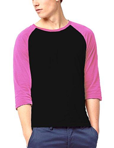 - Gotchicon Mens 3/4 Sleeve Baseball T Shirt Raglan Jersey Tee Unisex Sports Tee