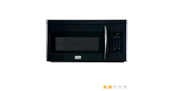 User Manual Frigidaire Fgmv153clb Gallery 1 5 Cu Ft Over
