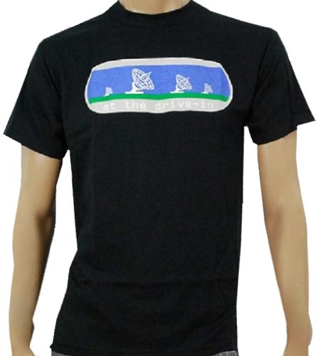 AT THE DRIVE IN - In Casino Out - Black T-shirt - size - Drive Casino