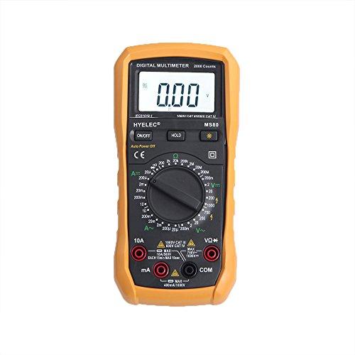 EverTrust(TM)HYELEC MS80 Professional Digital Multimeter AC/DC Voltage Current Resistance Tester w/ Backlight LCD Electrical (Spider Man Professional Costumes)