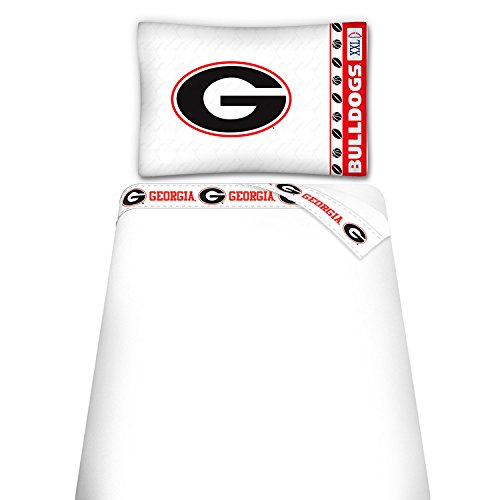 georgia bulldog sheets twin - 9