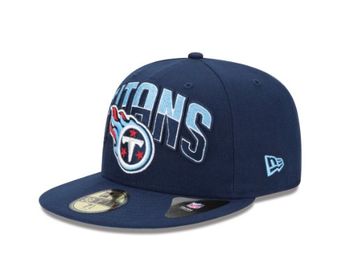 NFL Tennessee Titans 2013 Draft 59FIFTY Fitted Cap Blue, 7 7/8 - Nfl Draft Cap